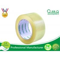 Quality Strong Sticky Transparent Crystal Clear Tape BOPP Reinforced Packaging Tape for sale