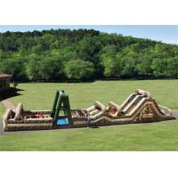 Wholesale Outdoor Inflatable Obstacle Course , Boot Camp Inflatable Outdoor Play Equipment from china suppliers