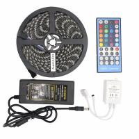 5050 RGBW Led Strip 60leds/M RGBWW Led Strip Light IP65 With 40 Keys IR Remote Controller for sale
