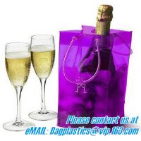 Wholesale portable wine bags, wine carriers, juice beverage bags, drink ice bags, wine gift from china suppliers
