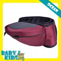Wholesale Popular Red Oxford baby hip seat carrier Multi - function Waist Stool from china suppliers
