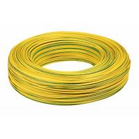China Yellow PVC Insulated Copper Wire / 14 Awg Electrical Wire UL1015 Low Eccentricity on sale