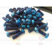 Wholesale GR5 Ti6AL4V DIIN titanium Alloy Ti6Al4V titanium screw for bycicle factory directly from china suppliers