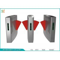 Wholesale Stainless Steel Retractable Flap Barrier Gate Access Control Automatic Turnstiles from china suppliers