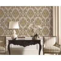 Wholesale 1.06*10m Korean Style Wallpaper For Home Decoration , Modern Wallpapers For Bedroom from china suppliers