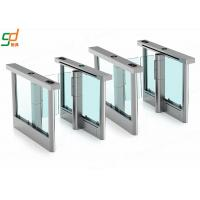 Wholesale Automatic Pedestrian Turnstyle Door , Subway turnstile access control Gates Machine from china suppliers