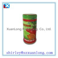 Wholesale Round shape tin box for tea and coffee packing from china suppliers