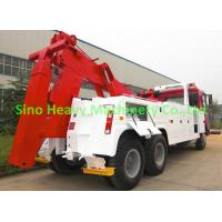 Wholesale Manual HOWO Wrecker Tow Truck , 20 ton Tow Truck Wrecker ST5381TQZCZ from china suppliers