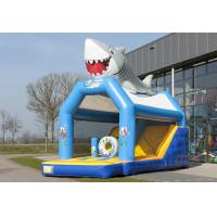 Wholesale Seaworld Combo Jumper Rentals Inflatables Bounce House Blue 0.55mm PVC from china suppliers