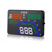 China OBD2 Interface GPS Heads Up Display Speedometer Q7 Hud 5.5 Inch GPS 9V ~ 16V Dc on sale