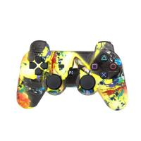 Wholesale ABS Material Bluetooth Game Controller , Ps3 Controller Joystick Pressure Sensitive Buttons from china suppliers
