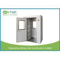 Cleanroom Stainless Steel Air Shower Fully Auto Controlled For Electronics Industry for sale