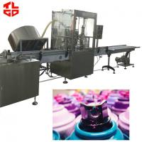 Automatic Aerosol Filling Machine / Assembly Line For Rubber Paint Spray for sale