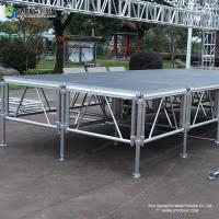 Wholesale heavy duty aluminium truss stage concert system portable stage for events from china suppliers