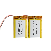 Wholesale Portable Source 1000mAh 3.7 V Lithium Polymer Battery from china suppliers