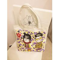 Wholesale hot-transfer canvas shopping bag from china suppliers