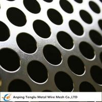 China Round Hole Patten Perforated Sheet|Stainless Steel Perforated Plate R4 T6 for sale