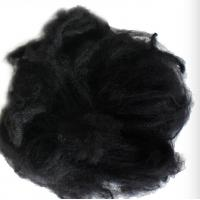 China Black Reliance Polyester Staple Fibre 1.2D X 38MM For Non - Woven Fabric on sale