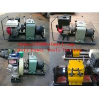 Wholesale cable puller,Cable Drum Winch,Cable pulling winch from china suppliers