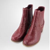 Buy cheap Fashion genuine leather boots winter women boots, low heel boots , ladies boots from wholesalers