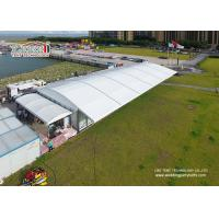 Wholesale 500 People Luxury Wedding Tents 10x40m Aluminum PVC Marquee with Dome Top and Glass Sides from china suppliers