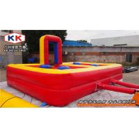 Quality Pole Joust Blow Up Inflatable Sports Games Kids Jumpers For Garden House for sale