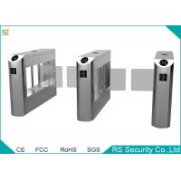Wholesale Government Railway Supermarket Swing Gate Bevel Swiping Card Turnstiles System from china suppliers