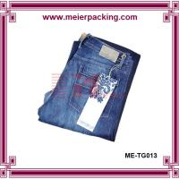 Wholesale Custom white garment hang tag/Paper hangtags for Jean ME-TG013 from china suppliers