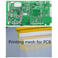 70-72 Mesh Monofilament Polyester Screen Printing Mesh In PCB Printed Circuit Boards for sale