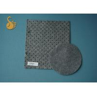 Quality Needle Punched Grey Felt Fabric Exhibition Carpet in stock 4 Metres width for sale