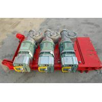 Wholesale CE Approved 1 Ton Red Rack And Pinion Hoists with Mast Hot-dip Galvanized from china suppliers