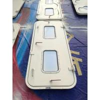 Wholesale Marine Singe Leaf Aluminum Weathertight Door With Stainless Steel Accessories from china suppliers