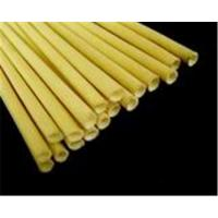 China 2751 Silicone rubber coated fiberglass sleeving on sale