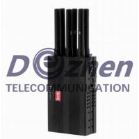 China All Cell Phone Handheld Signal Jammer 2G 3G 4G 2 Hours Maximum Working Time on sale