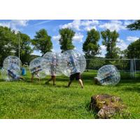 Wholesale Comercial 1.0M 1.8M TPU Human Hamster Bumper Ball Soccer Football , Loopy Zorb Ball from china suppliers