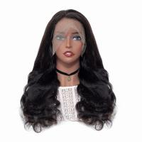 Soft Healthy Full Lace Human Hair Wigs Thick Remy Natural No Shedding for sale