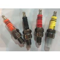 Wholesale CD70  motorcyle spark plugs with different colors C7HSA from china suppliers