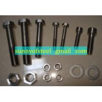 Wholesale inconel UNS N06600 fastener bolt nut washer gasket screw from china suppliers