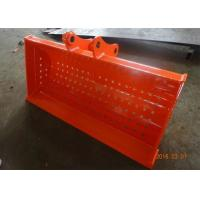 Wholesale Doosan DX75 Backhoe Rock Bucket / Excavator Screening Bucket 1500Mm Wide from china suppliers