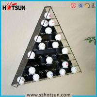 Quality Hot sale retail acrylic golf ball display case/golf ball display boxes/golf ball display rack for sale