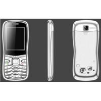 China White 4GB customized cell phone, 5500, GSM / GPR 900 / 1800MHz, Camera, Bluetooth, FM, MP3 on sale