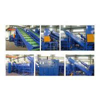 Automatic Recycling Waste Plastic Washing Line For Decoration Film for sale