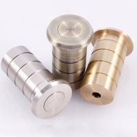 Wholesale Flush bolt dust excluding sprung socket brass door hardware floor socket from china suppliers