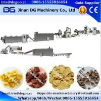 Wholesale Kelloggs cereal corn flakes coco ball ring pic snack food production line from china suppliers