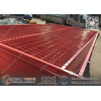RED color portable fencing China Factory