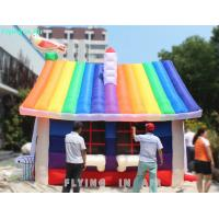 Buy cheap Customized Inflatable Rainbow House Tent for Holiday and Party from Wholesalers