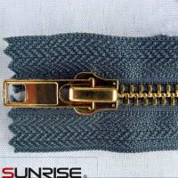 Wholesale factory wholesale metal zipper manufacture with aluminum zipper from china suppliers