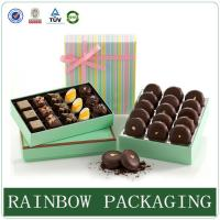 Wholesale Chocolate Paper Box Packaging , Product Packaging Box for Gift Wrapping from china suppliers