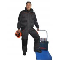 Buy cheap Padded Canvas Winter Work Coveralls Comfortable With Elasticated Cuffs And Waist from wholesalers