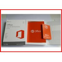 Wholesale Microsoft Office 2016 Home and business  Retail Box Office 2016 HB for MAC activated online from china suppliers